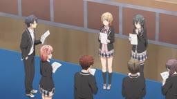 Yahari Ore no Seishun Love Comedy wa Machigatteiru. Kan ep 10   Legendado    - Anitube