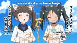 World Witches Hasshin Shimasu! ep 10   Legendado    - Anitube